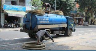 Cam kết nhận hút hầm cầu tại Huyện Bình Chánh nhanh sạch 99%
