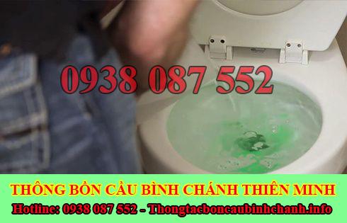 Thông bồn cầu bị nghẹt giấy Huyện Bình Chánh giá rẻ 0938087552