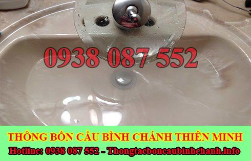 Thông bồn rửa chén bát trào ngược Huyện Bình Chánh 0938087552