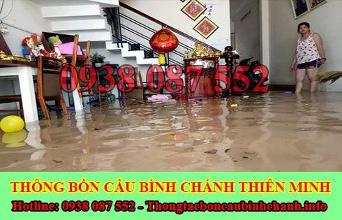 Thông cống bị trào ngược tại Huyện Bình Chánh giá rẻ 0938087552