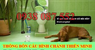 Xử lý mùi hôi nhà vệ sinh Huyện Bình Chánh Thiên Minh