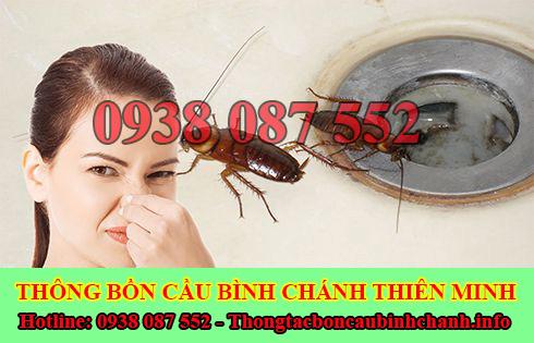 Xử lý mùi hôi bồn cầu toilet nhà vệ sinh Huyện Bình Chánh Thiên Minh.