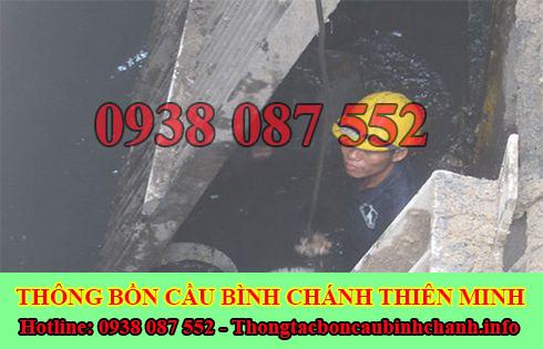 Bảng giá nạo vét hố ga giá rẻ Huyện Bình Chánh Thiên Minh.