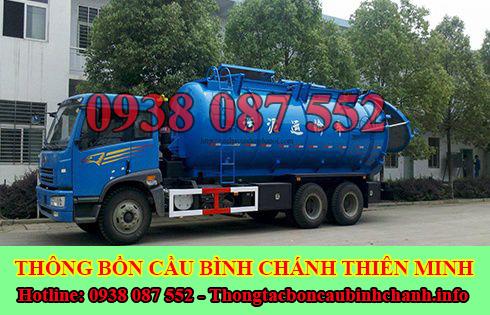 Số điện thoại hút hầm cầu Huyện Bình Chánh giá rẻ 0938087552