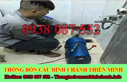 Số điện thoại thông bồn cầu Huyện Bình Chánh giá rẻ 0909996752