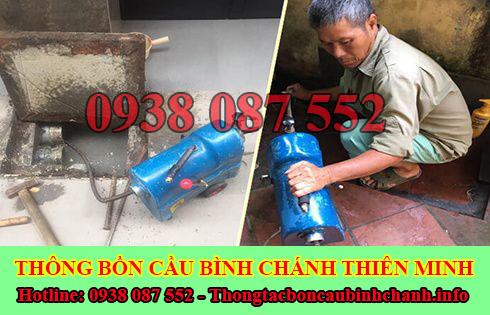Số điện thoại thông cống nghẹt Huyện Bình Chánh 0938087552