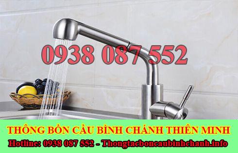 Thợ sửa bồn rửa chén bát Huyện Bình Chánh tại nhà 0938087552
