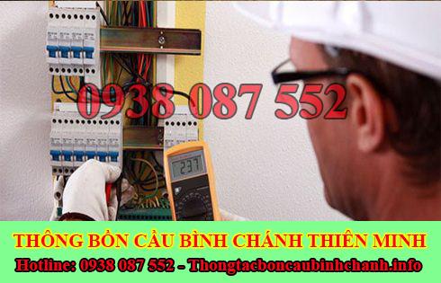 Thợ sửa chữa điện nước Huyện Bình Chánh tại nhà 0938087552