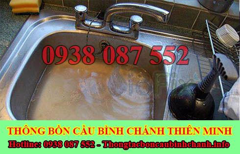 Thợ thông tắc bồn rửa mặt lavabo Huyện Bình Chánh 0938087552