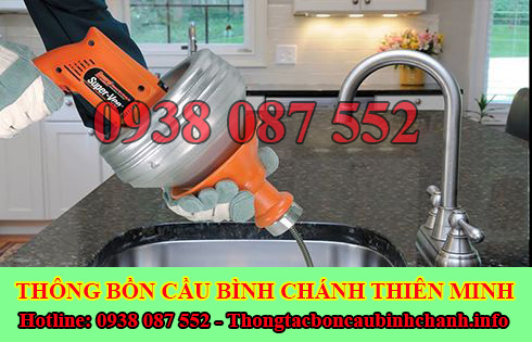 Nhu cầu sử dụng thông tắc nghẹt bồn rửa chén bát bồn rửa mặt lavabo Huyện Bình Chánh.