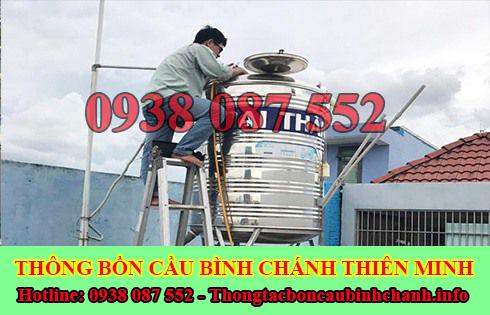 Bảng giá vệ sinh bồn nước Huyện Bình Chánh giá rẻ 0938087552